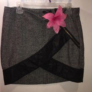 Sexy tweed skirt